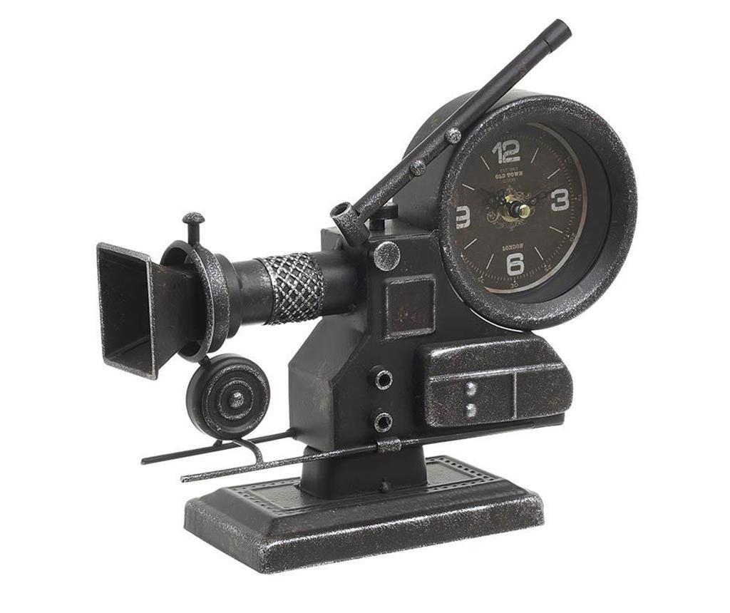 Ceas de masa Old Camera - inart, Negru