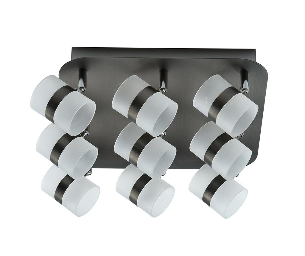 Functional Lighting Plafoniera Graffiti Nine Silver Gri Argintiu