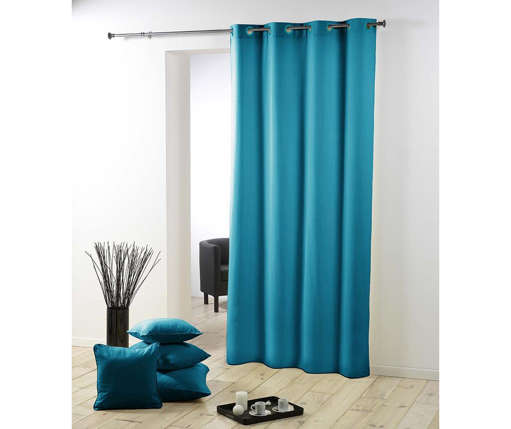 Draperie Essentiel Blue 140x280 cm - L3C, Albastru