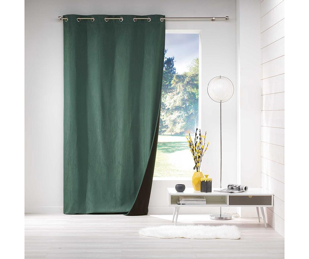 Draperie Avoriaz Green 140x260 cm - L3C, Verde