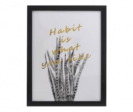 Tablou Habbit 30x40 cm