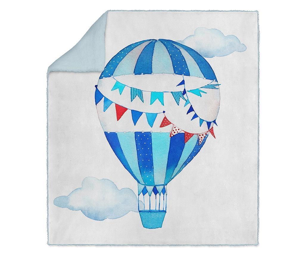 Pled Blue Balloon 130x160 cm