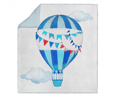 Pléd Blue Balloon 130x160 cm