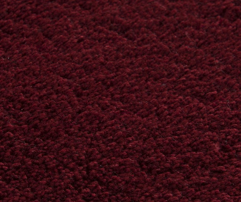 Plain Red Fürdőszobai szőnyeg 60x100 cm