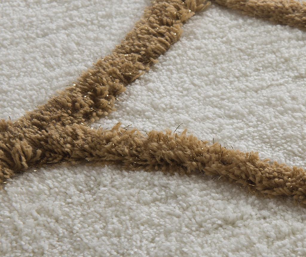Kupaonski tepih Bevis Cream 60x100 cm
