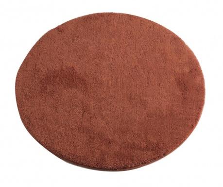 Χαλάκι μπάνιου Circle Brick Red 90 cm