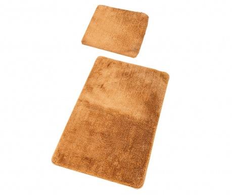Zestaw 2 dywaników łazienkowych Plain Beige