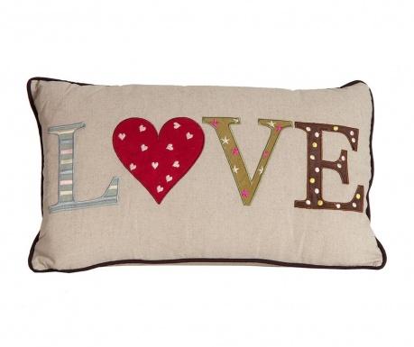 Perna decorativa Love 30x50 cm