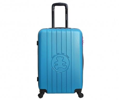 Kolieskový kufor Lulu Bear Blue