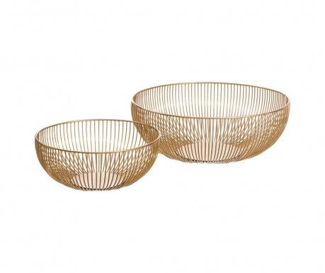 Set 2 dekorativnih košaric Olivan