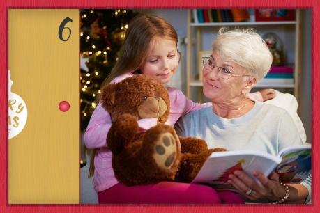 Božić u kući bake i djeda