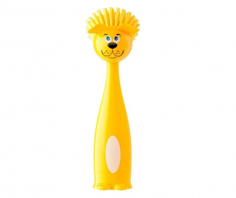 Perie de vase Tummy Dog  Yellow