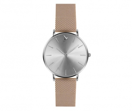 Γυναικείο ρολόι χειρός Emily Westwood Shine Glam Rose