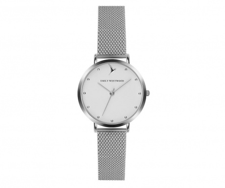 Zegarek damski Emily Westwood Clear Glam Silver