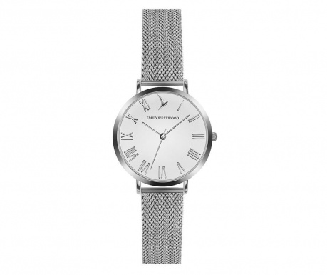 Ρολόι χειρός γυναικείο Emily Westwood Century Glam Silver