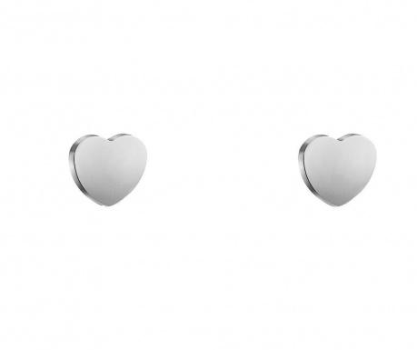 Naušnice Love Silver