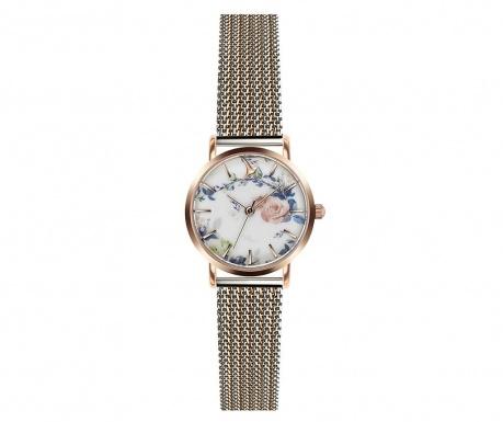 Γυναικείο ρολόι χειρός Emily Westwood Rosalia Silver Gold