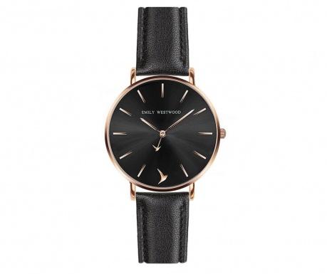 Γυναικείο ρολόι χειρός Emily Westwood Morgana Black