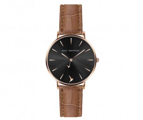 Γυναικείο ρολόι χειρός Emily Westwood Navia Brown