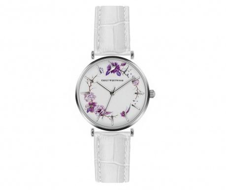 Γυναικείο ρολόι χειρός Emily Westwood Hortessa White