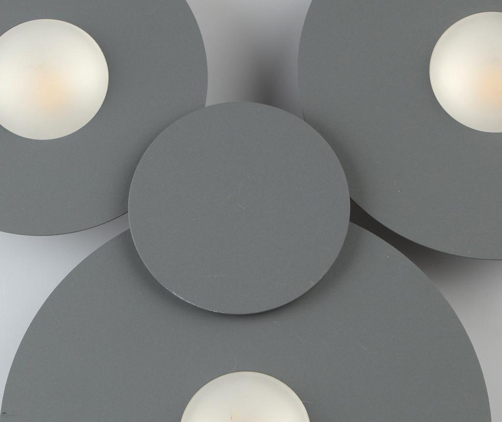 Stropna svetilka Darro Grey Three