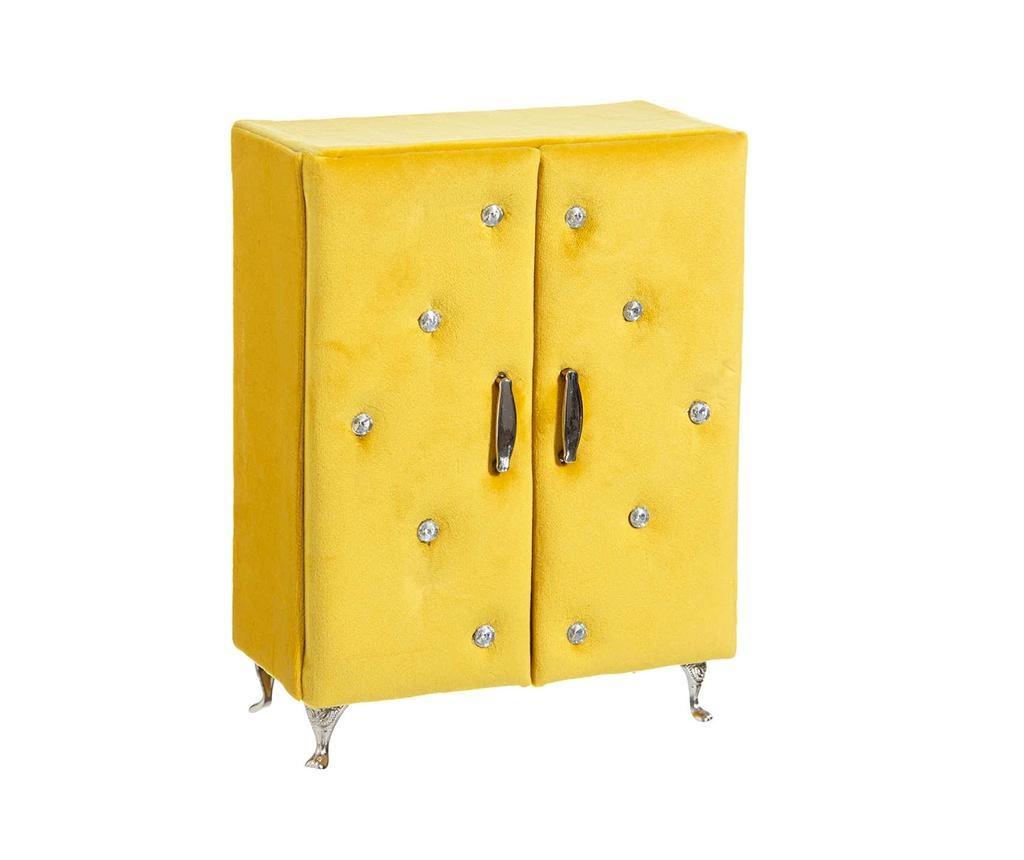 Julian Yellow Ékszertartó doboz