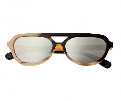 Kampaň ukončená Dámske slnečné okuliare Bertha Aviator Black Tan 30556baba6b