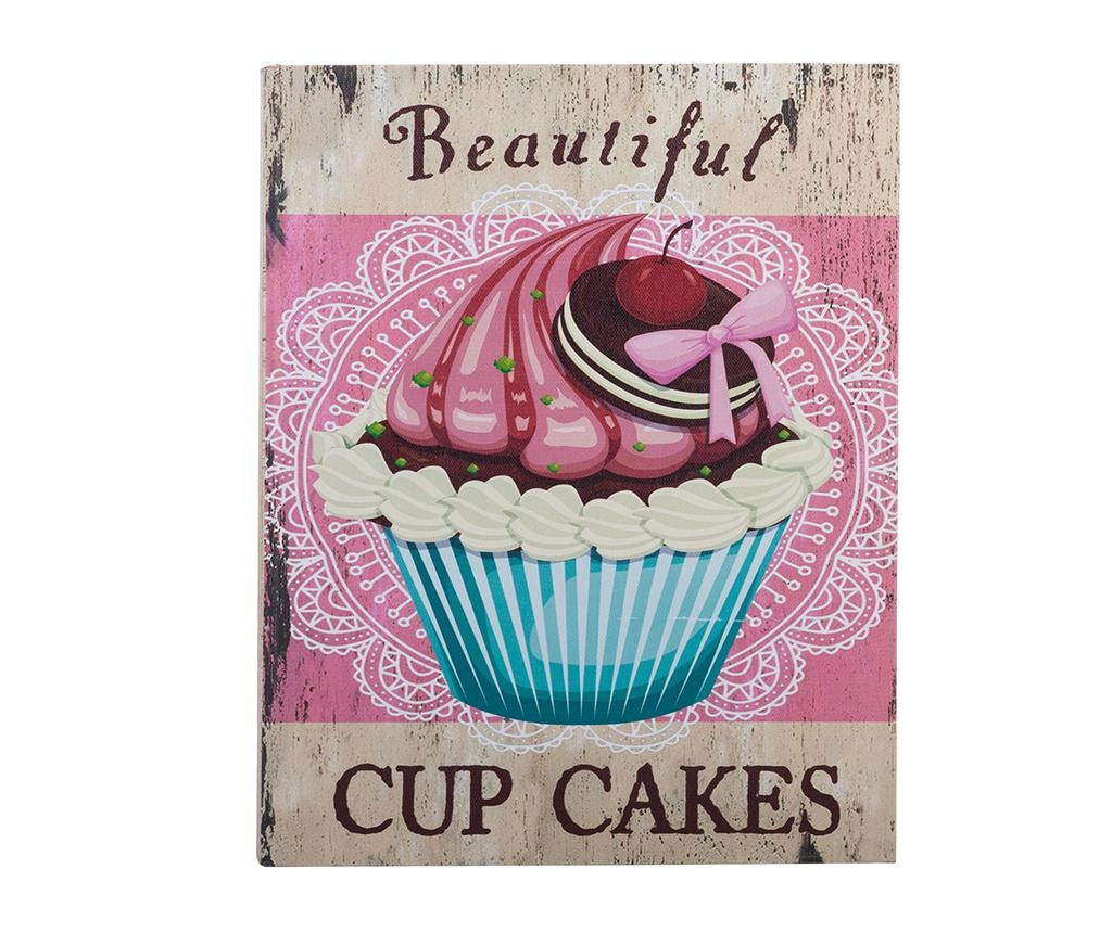 Cupcakes 3 db Könyvdoboz