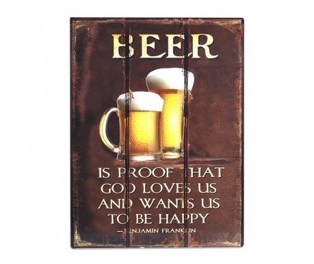 Dekoracja ścienna Beer