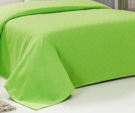 Cuvertura Pique Saza Green 155x200 cm