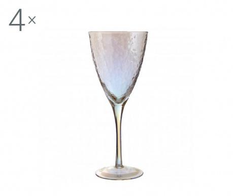 Set 4 kozarcev za vino Aurora Gradient 377 ml