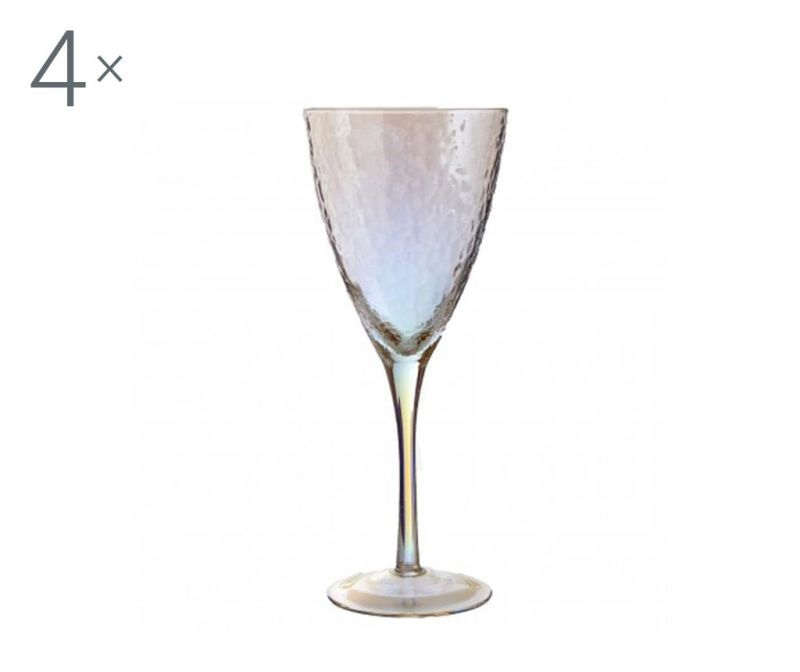 Set 4 pahare pentru vin Aurora Gradient 377 ml