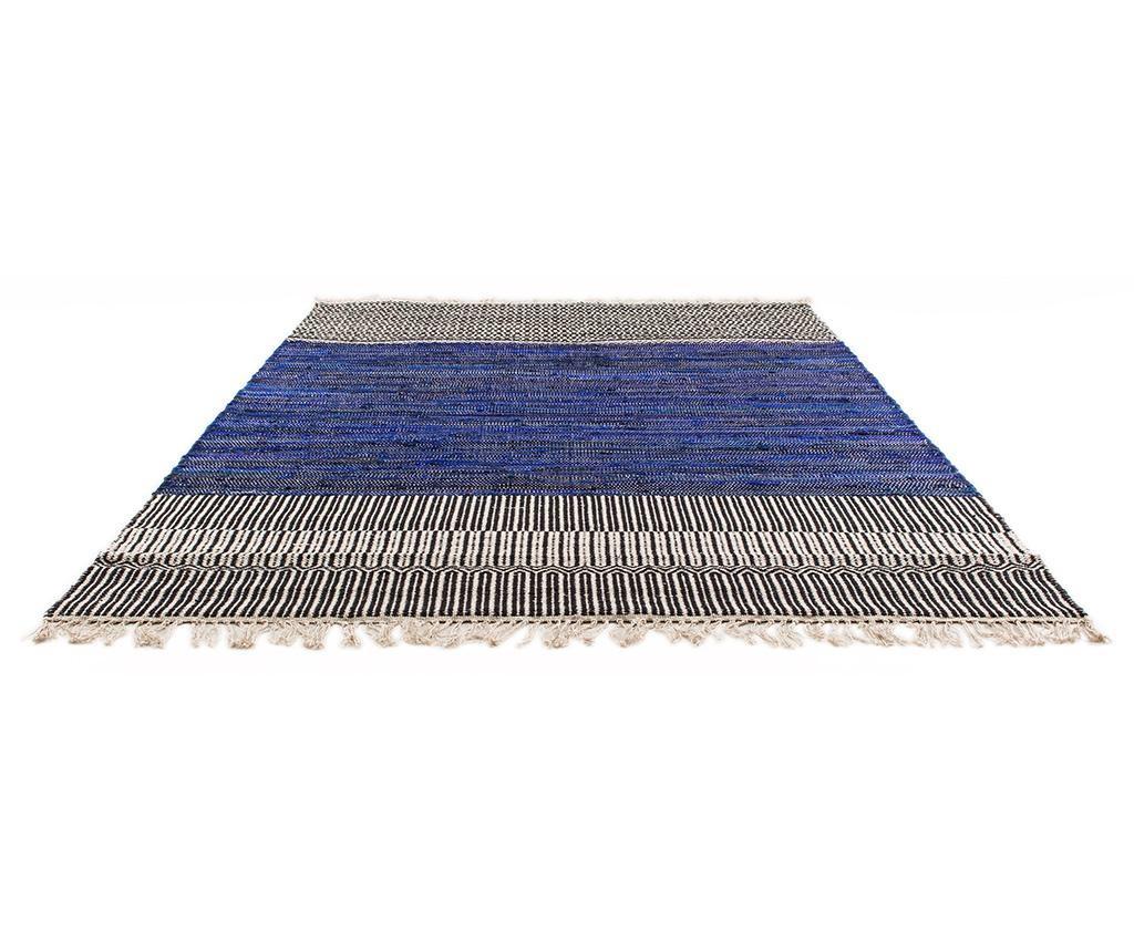 Dywan Boho Chindi Kilim Indigo 120x180 cm