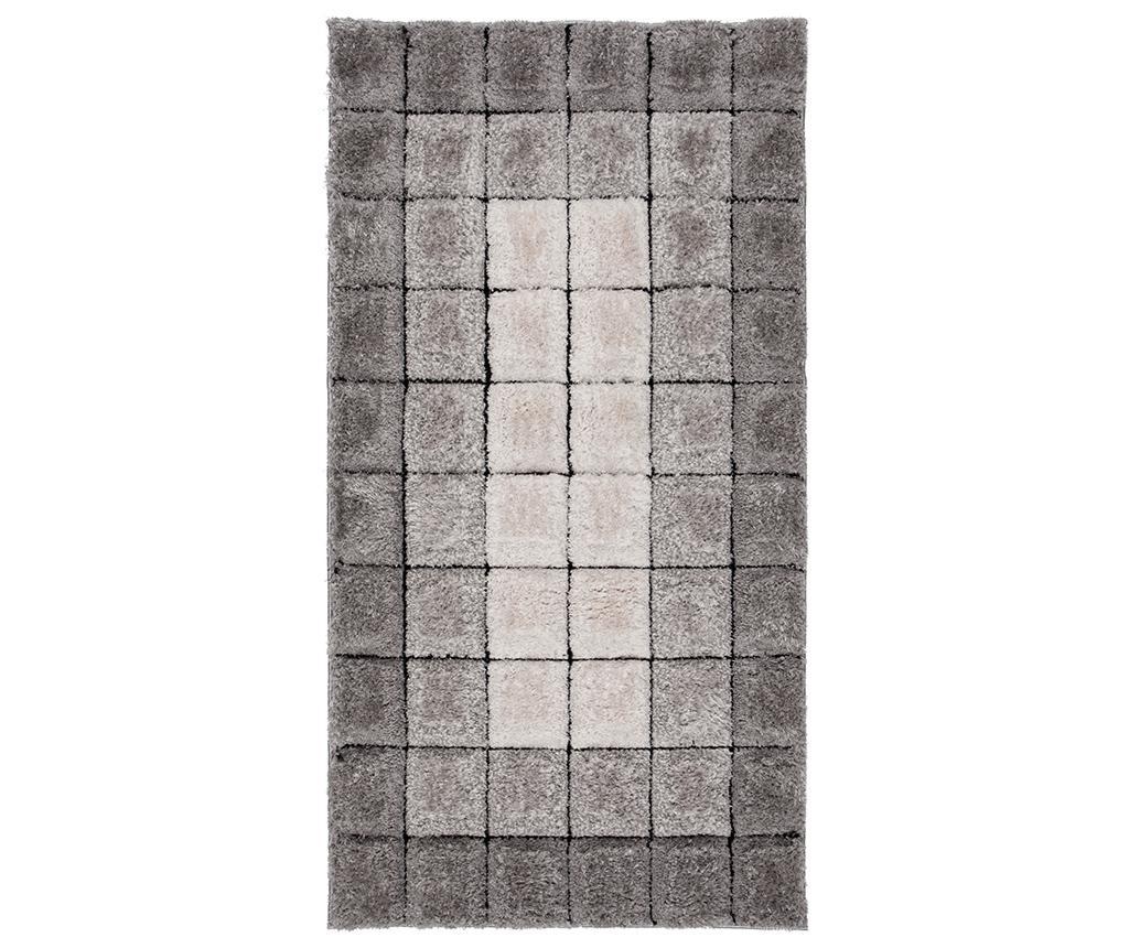 Covor Cube Grey 160x230 cm - Flair Rugs, Gri & Argintiu