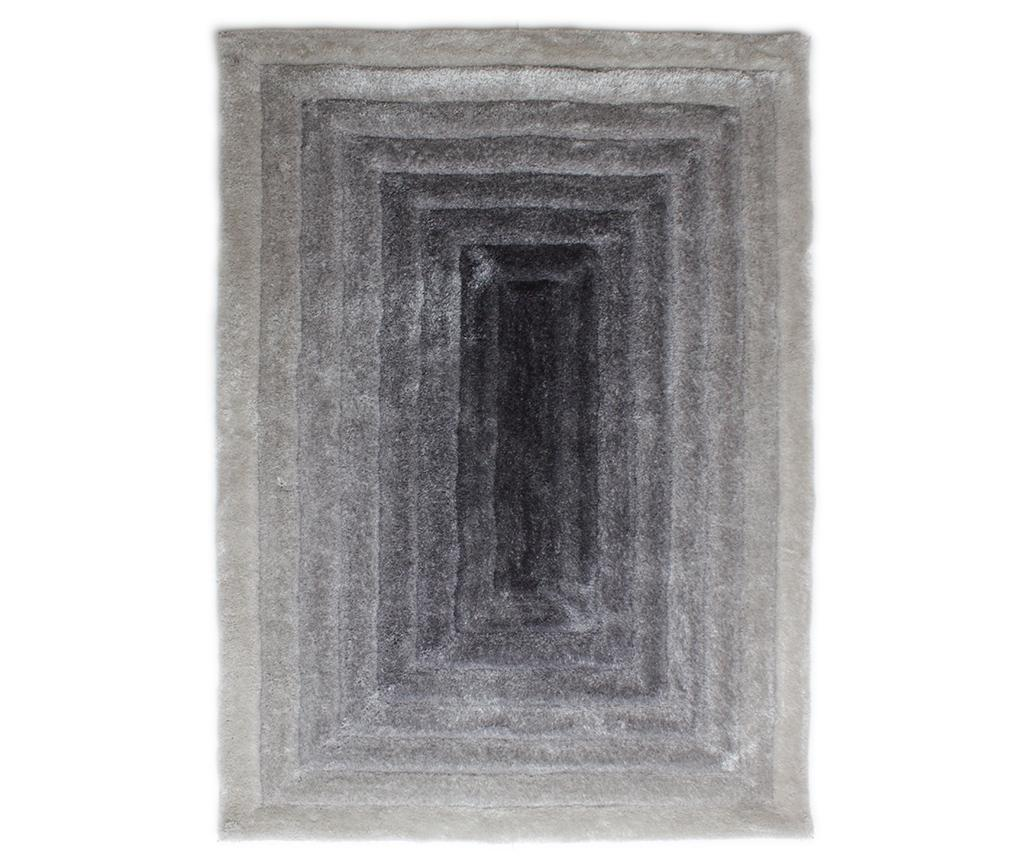 Covor Ridge Grey & Silver 80x150 cm - Flair Rugs, Gri & Argintiu