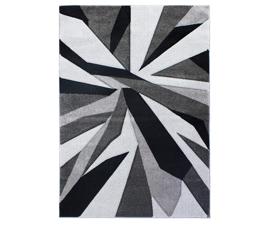 Covor Shatter Grey Gri Argintiu