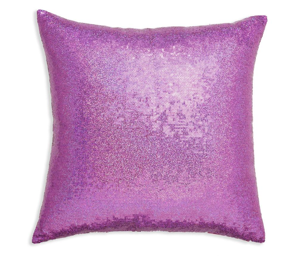 Perna decorativa Fuchsia Sequin 43x43 cm - Arthouse, Roz