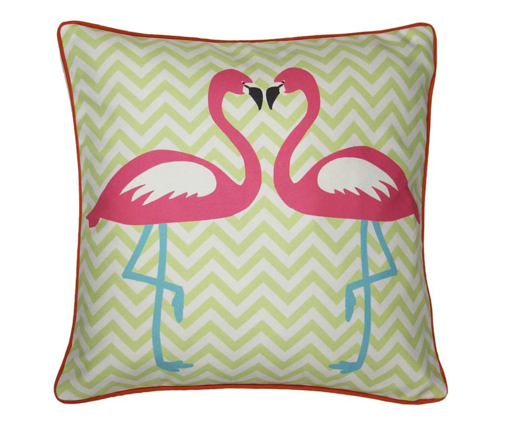Perna decorativa Girl's Life Flamingo 45x45 cm - Arthouse, Multicolor