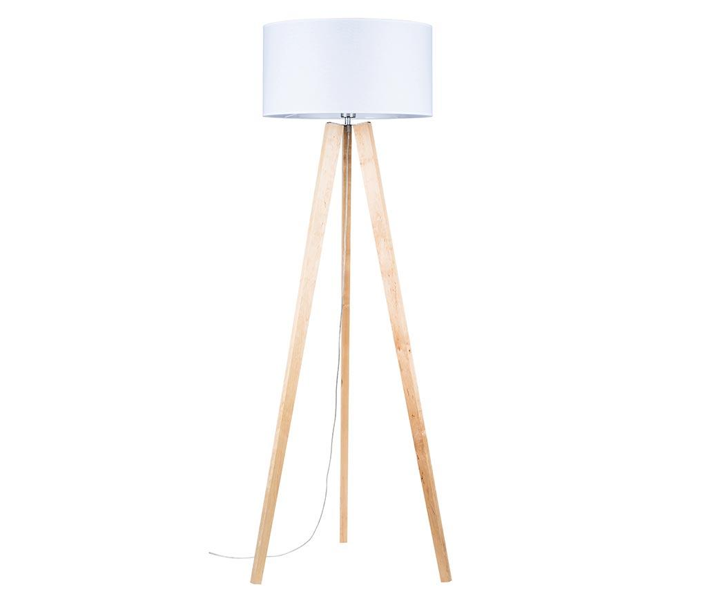Lampadar Lotta White Natural - BRITOP Lighting, Alb