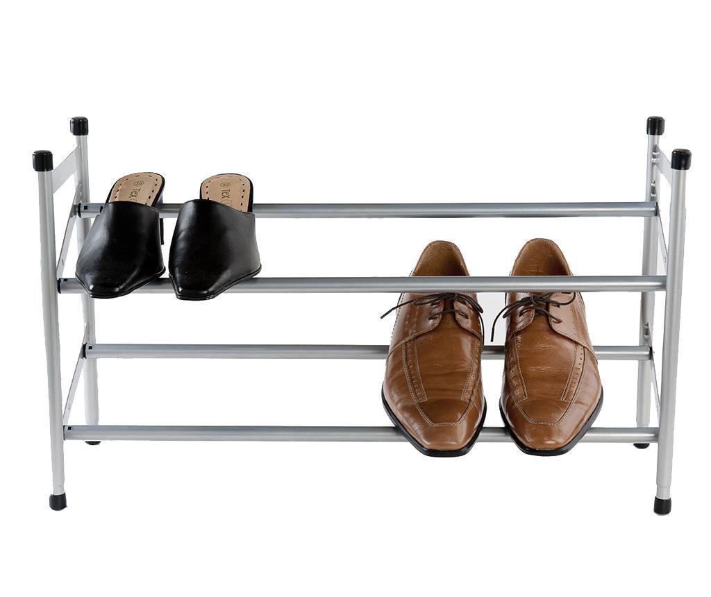 Pantofar extensibil Dave - Compactor, Gri & Argintiu