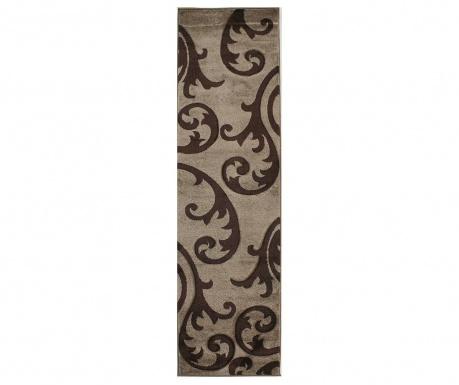 Covor Elude Beige Brown 60x230 cm