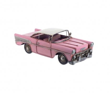 Dekorace Antique Car Pink