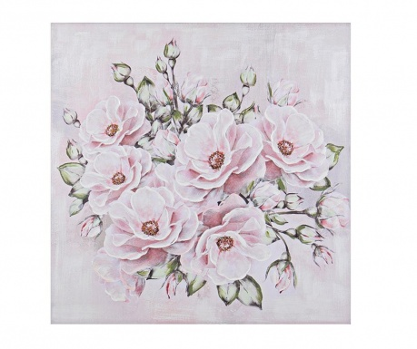Картина Flores Multi 100x100 см