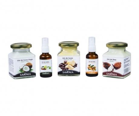 Sada 5 výrobků pro péči o tělo Savonia