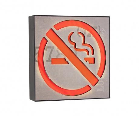 Nástěnná světelná dekorace No Smoking Please