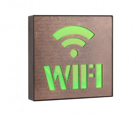 Nástěnná světelná dekorace Wifi Zone