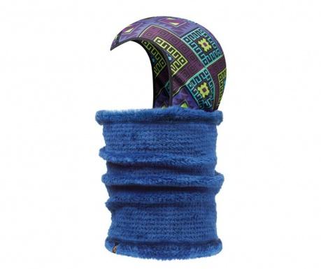 Cagula cu fular circular unisex 2in1 Buff Kadsu Twilight Blue