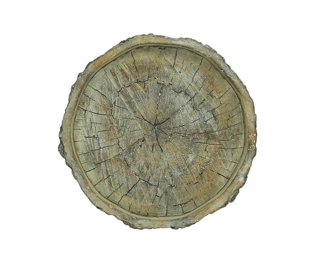 Dekorativni krožnik Wood
