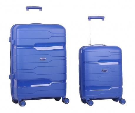 Zestaw 2 walizek na kółkach Circuit Navy