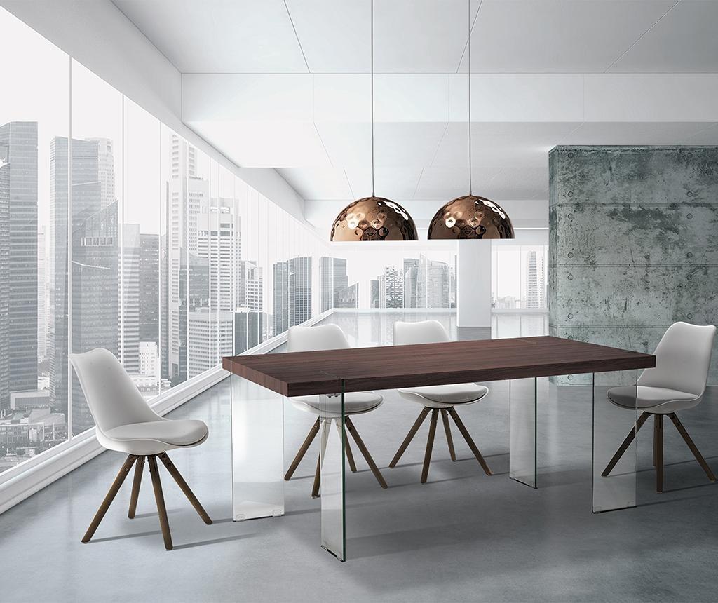 Waver Dark Brown Asztal